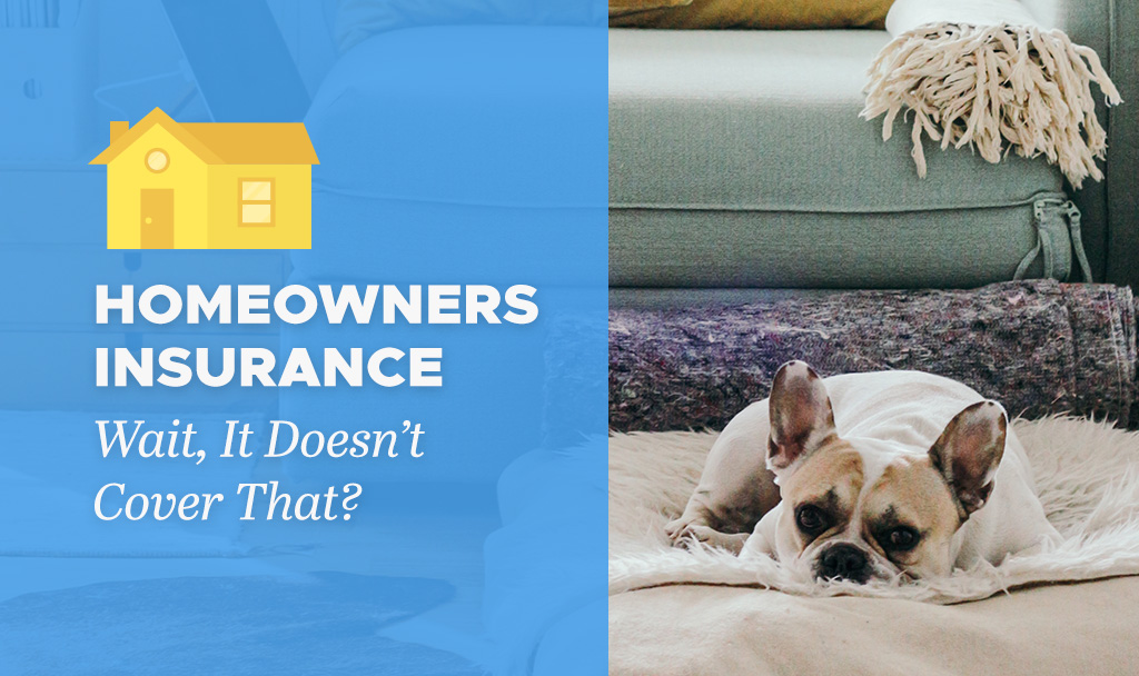 Home Insurance: Wait, It Doesn't Cover That?