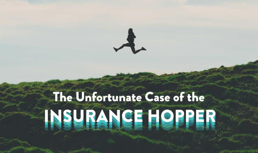 The unfortunate case of the insuarnce hopper