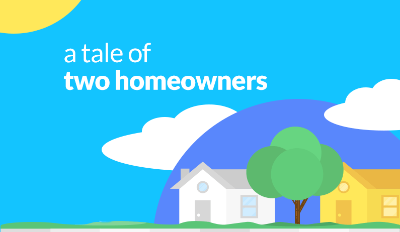 A Tale of Two Homeowners